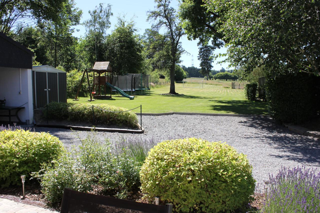 Gite in Ardennen met grote tuin op het zuiden