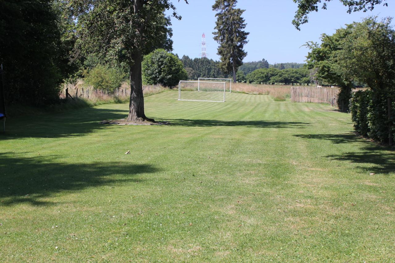 Gite in Ardennen met grote omheinde tuin