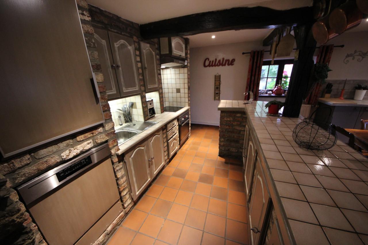 Gite in Ardennen met grote ingerichte keuken