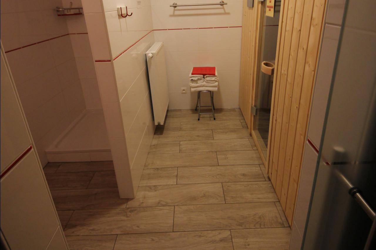 Vakantiehuis met sauna met douche