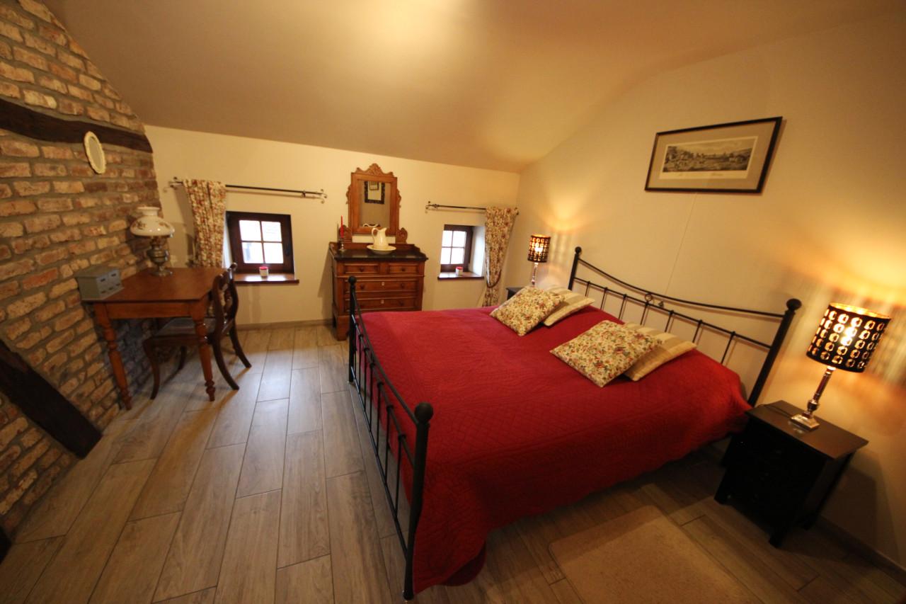 Vakantiehuis met slaapkamer 2 personen en groot dubbelbed